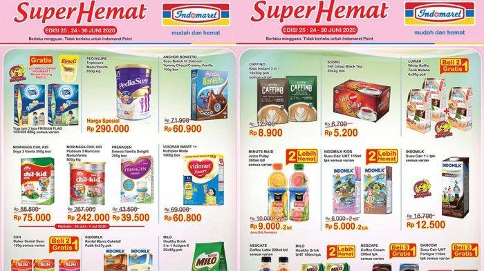 Katalog Promo Indomaret Terbaru 24 30 Juni 2020 Harga Heboh Hingga Super Hemat Ada Beli 2 Gratis 1 Tribun Pontianak