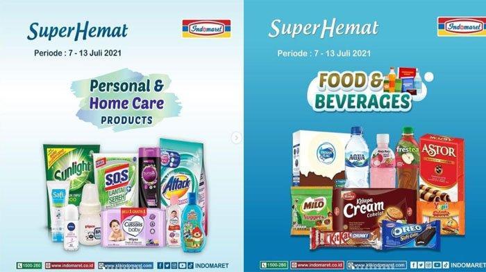 PROMO INDOMARET Hari Ini 13 Juli 2021, Super Hemat Deterjen Snack hingga Susu Murah