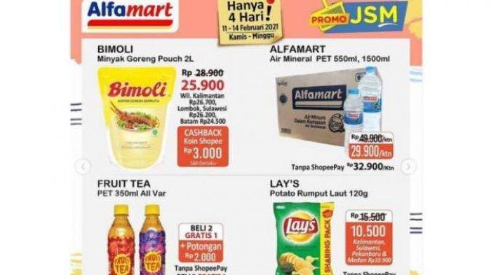 KATALOG Promo JSM Alfamart Terbaru 12 Februari 2021, Ada Promo Minyak Goreng   Coba Alfamart Online