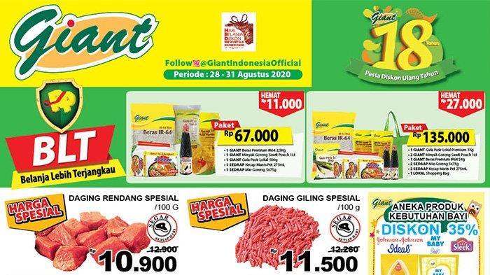 Katalog Promosi Giant Jsm 28 31 Agustus Kebutuhan Dapur Deterjen Hingga Produk Bayi Serba Hemat Halaman All Tribun Pontianak
