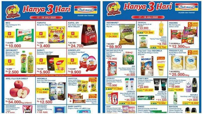 Katalog Promo Jsm Indomaret Weekend 17 19 Juli 2020 Hanya 3 Hari Susu Detergen Snack Hemat Banget Tribun Pontianak