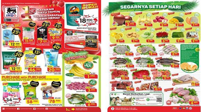 PROMO SUPERINDO 15 - 21 Juli 2021, Harga Spesial Beras Murah Deterjen hingga Daging Segar