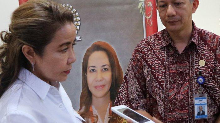 Anggota DPR RI Dapil Kalbar, Katherine Oendoen