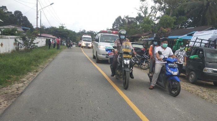 Anggota Polsek Ledo Kawal Jenazah hingga ke Pemakaman