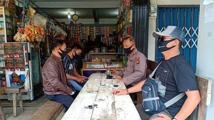 Kapolsek Monterado Polres Bengkayang Tatap Muka Bersama Panwascam Bahas Kesiapan Pilkada