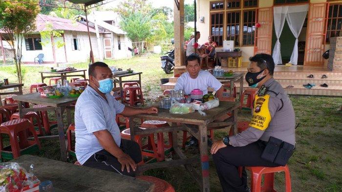 Bentuk Empati Kepada Warganya, Bhabinkamtibmas Kelurahan Pangmilang Lakukan Sambang Duka