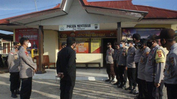 Kunjungi Polsek Mentebah Kapuas Hulu, Ini Arahan Kapolda Kalbar Sigid Tri Hardjanto
