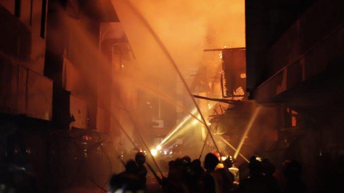 Saksi Mata Kebakaran di Pontianak Terkejut Lihat Api Tiba-tiba Membesar