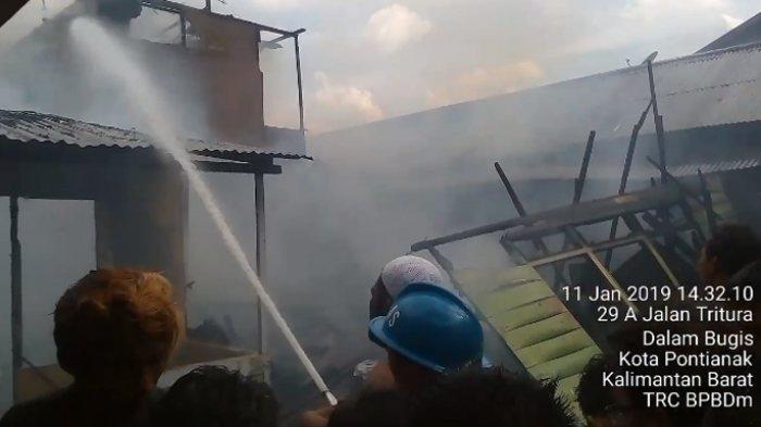 Dua Rumah di Beting Terbakar, Nila Kabur Sambil Teriak Api