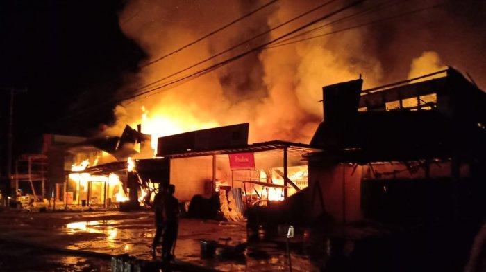 Kebakaran Ruko di Sintang, Polisi Ungkap Kemunculan Api Awal dan Penyebanya