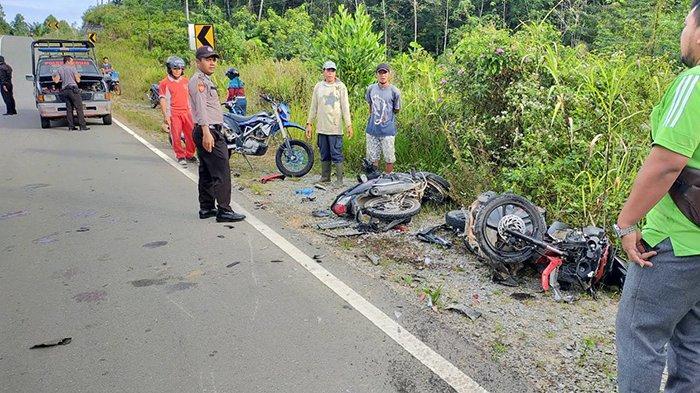UPDATE Korban Tewas Kecelakaan di Sanggau - Maut Siswa SMP dan Satu Korban Dirujuk ke RS Antonius