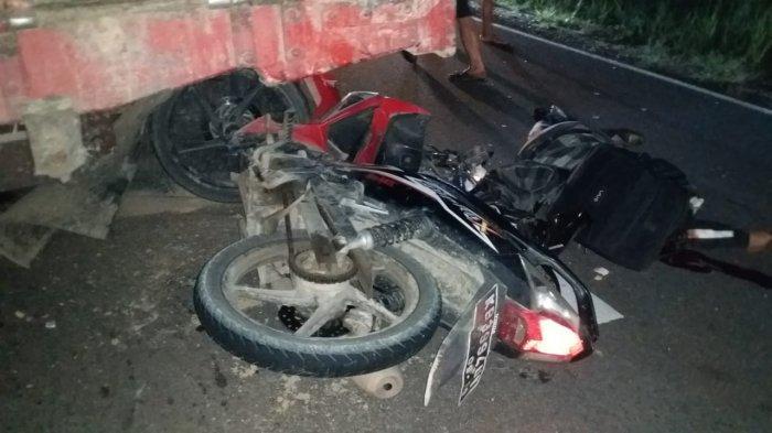 Tabrak Sisi Belakang Truk, Pengendara Sepeda Motor di Sanggau Tewas di Tempat