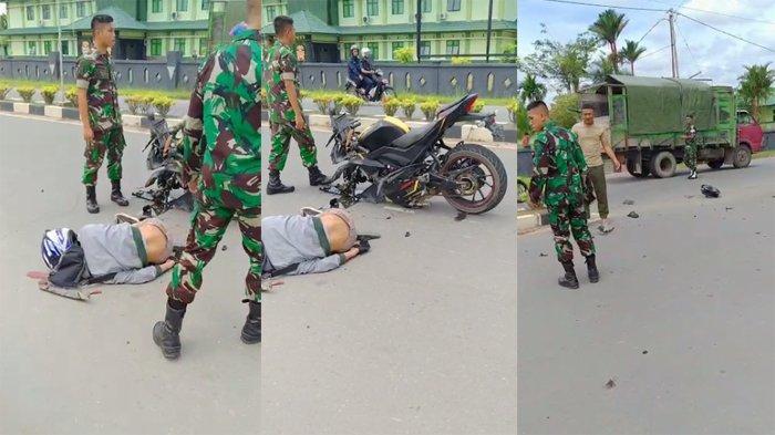 BREAKING NEWS - Kecelakaan Maut di Kota Sambas, Korban Terlempar ke Parit dan Kaki Remuk