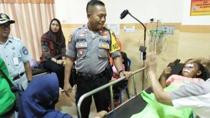 FAKTA Baru Kecelakaan Tol Lampung, Kisah 2 Bocah Perempuan Selamat saat 4 Orang Terbakar dalam Mobil
