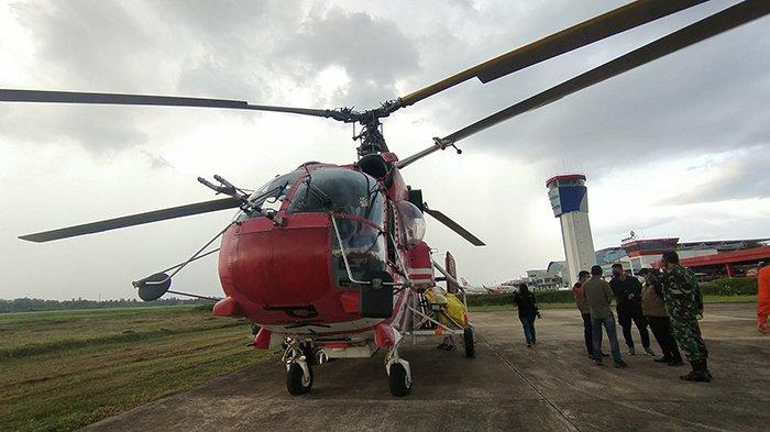 BNPB Siagakan 1 Unit Helikopter Guna Water Bombing di Kalbar