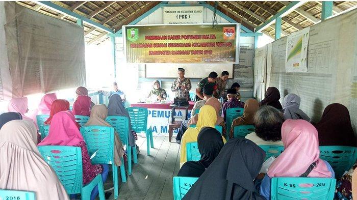 35 Kader Posyandu dan Bina Keluarga Balita di Kelurahan Sungai Sengkuang Ikuti Pelatihan
