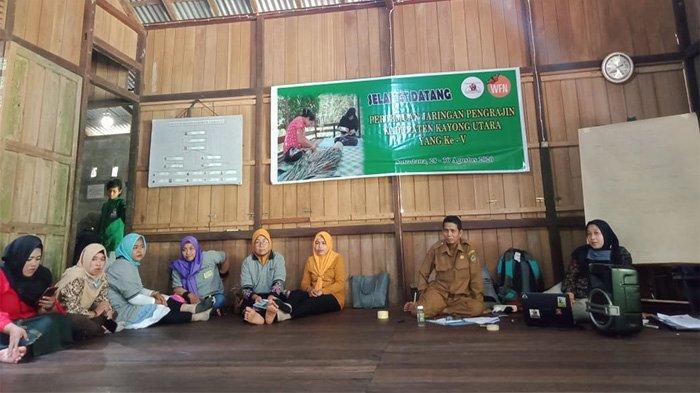 Pertemuan Jaringan Pengrajin HHBK Se-Kabupaten Kayong Utara