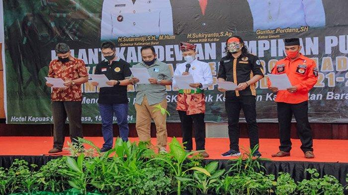 LSKM Bersama Pemuda Lintas Etnis Kalbar Laksanakan Deklarasi Damai