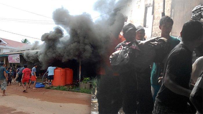 Bayi Jadi Korban Kebakaran Ruko di Ketapang