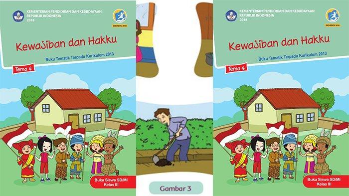 Kunci Jawaban Tema 4 Kelas 3 Halaman 96 97 99 100 102 103 Buku Tematik Sd Subtema 3 Pembelajaran 1 Tribun Pontianak
