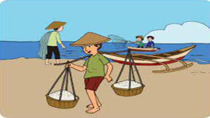 KUNCI Jawaban Tema 9 Kelas 4 Halaman 34-35 Berlajar Bernyayi dan Kelompok Aktivitas Ekonomi