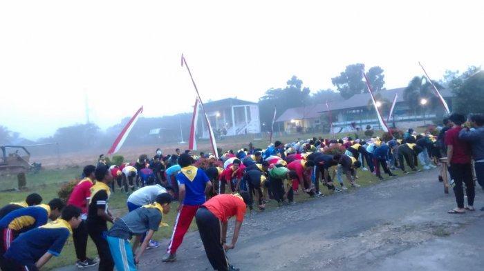 Ratusan Mahasiswa Universitas Muhammadiyah Pontianak Kemah di Sanggau Selama 5 Hari