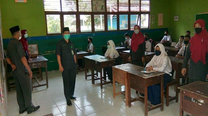 Kemenag Mempawah Tinjau Pembelajaran Tatap Muka RA dan Madrasah