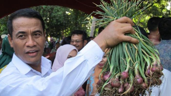 Menteri Pertanian Lolos dari Tabrakan Beruntun