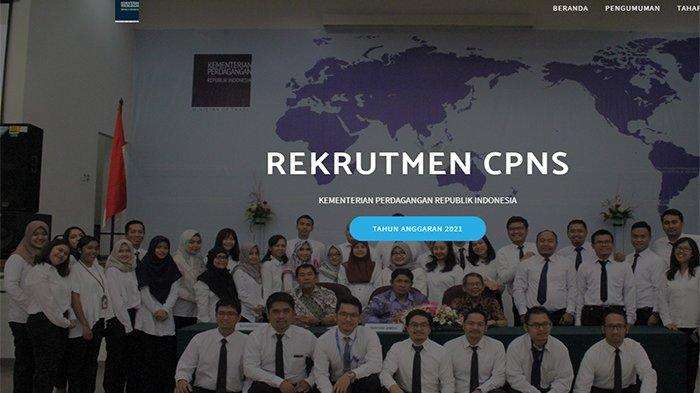 KEMENTERIAN Perdagangan CPNS 2021 Umumkan Titik Lokasi Ujian, Cek Jadwal SKD Kemendag 2021