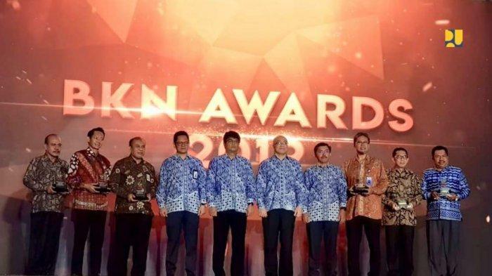Kementerian PUPR Terima Penghargaan KASN 2019 dan BKN Award 2019