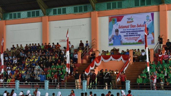 Berbagai Macam Perlombaan Peringati Haornas Ke-36 di Kabupaten Sintang