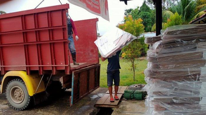 Logistik Pilkada Sudah Berdatangan di KPU Sekadau, Berikut Jumlah dan Proses Pendistribusiannya