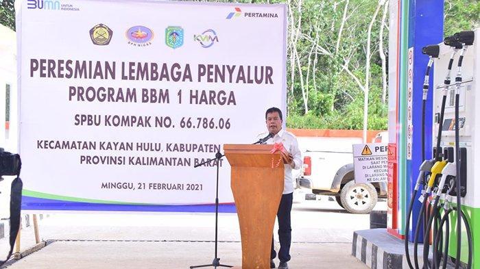 Capai Kemandirian Energi, Pemkab Sintang Ajukan Penambahan Pembangunan SPBU 3T ke Pusat