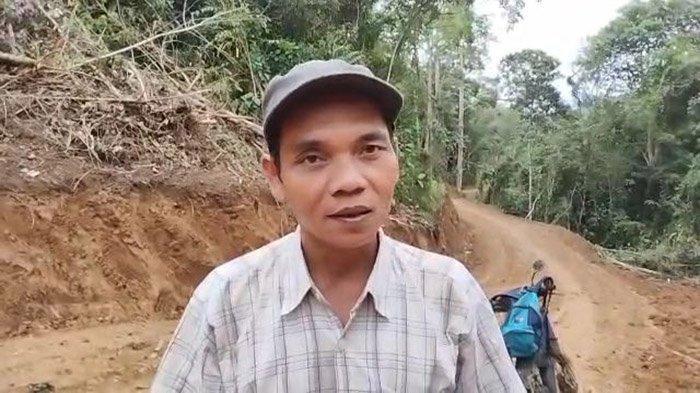 Kadus Bentarat Minta Pemda Tindaklanjuti Pembukaan Badan Jalan Akses Menuju Tiga Dusun