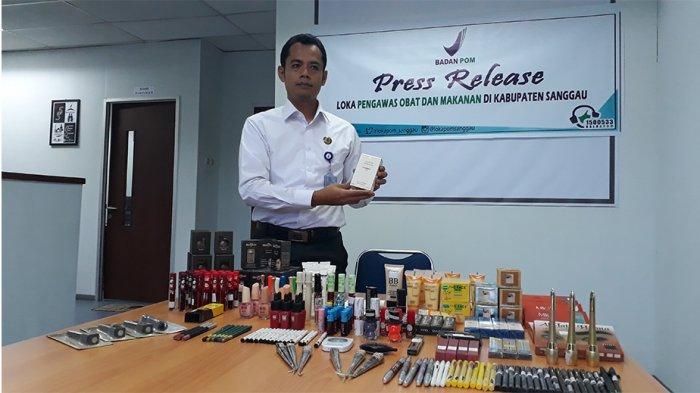 Loka POM Sanggau Sita Ribuan Kosmetika Ilegal