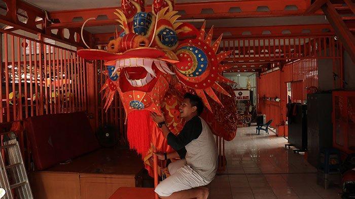 Semarak Cap Go Meh di Pontianak, Panitia Siapkan Spot Foto Booth dengan Naga Emas Panjang 45 Meter