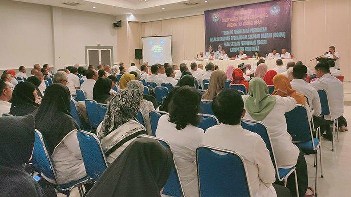 Pemkab Sosialisasi Bosda untuk Pendidikan, Seluruh Kasek SD dan SMP se-Kubu Raya Hadir