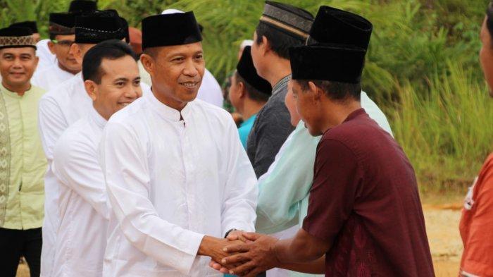 Kasrem 121/Abw Pimpin Safari Ramadan Pemkab Sintang ke Kecamatan Tempunak