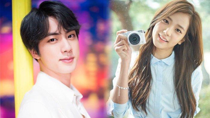 Keren Jin Bts Dan Jisoo Blackpink Raih Visual Idol K Pop Terbaik Tahun Ini Tribun Pontianak