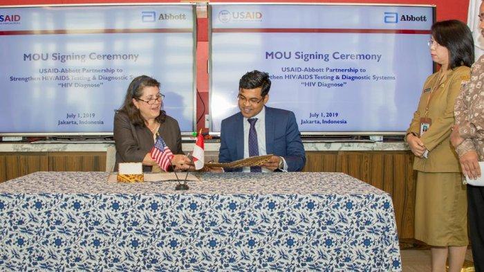 Amerika Serikat dan Indonesia Perluas Kolaborasi Tanggulangi HIV/AIDS