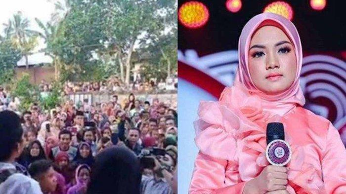 Kerumunan Warga Sambut Duta LIDA saat Wabah Corona Jadi Sorotan, Polisi hingga Indosiar Bereaksi