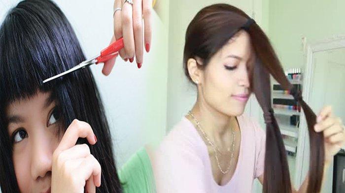 Kesal Sering Potong Rambut ke Salon Tak Sesuai Keinginan, Ini Panduan Potong Rambut di Rumah!