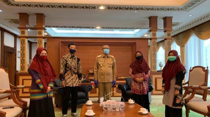 Kesatuan Aksi Pelajar Indonesia Audiensi dengan Gubernur Sutarmidji, Ini yang Dibahas