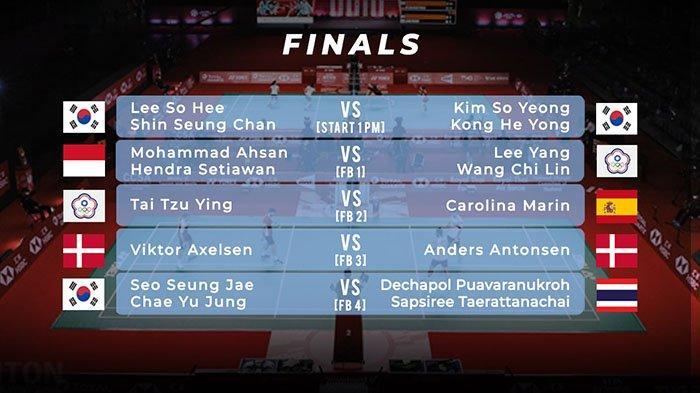 DAFTAR Juara Badminton BWF World Tour Finals Taiwan Bawa Pulang Dua Gelar Bergengsi, Indonesia ?