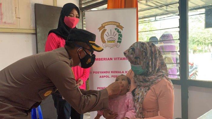 Kapolres Ketapang AKBP Yani Permana, S.I.K., M.H., kunjungan ke Yayasan Kemala Byangkari, Rabu 25 Agustus 2021
