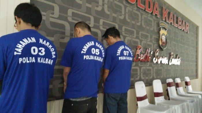 3 Warga Rutan di Periksa Polisi Terkait Kepemilikan 2 Kilogram Sabu dan 1993 Pil Ekstasi