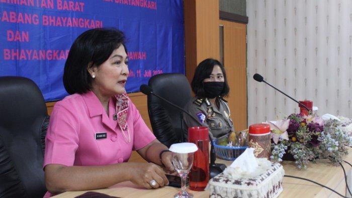 Ketua Bhayangkari Polda Kalbar Gelar Tatap Muka dengan Polwan Polres Mempawah