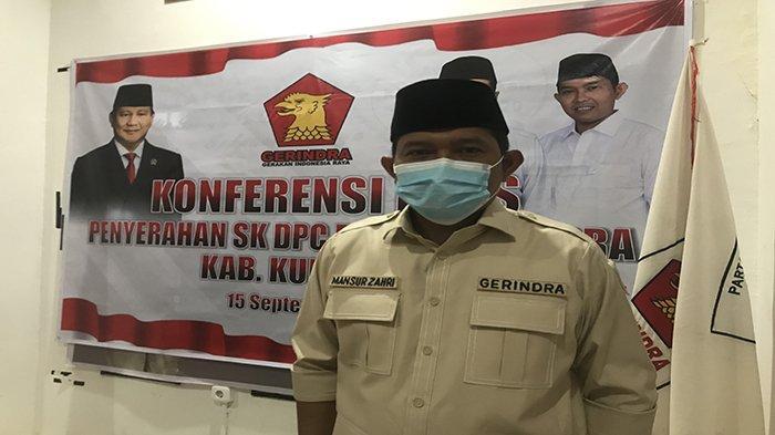 Terima SK Ketua DPC Gerindra Kubu Raya, Mansur Akan Berbenah
