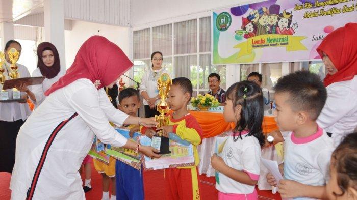 Kenalkan Budaya Pada Anak usia Dini, 185 Anak TK Ikuti Lomba Mewarnai yang Diselenggarakan GOPTKI