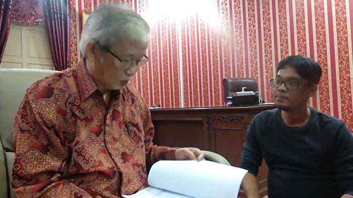 Ketua DPRD Kalbar M Kebing L Puji Raihan Wilayah Bebas Korupsi Kajati Kalbar dari Kemenpan RB